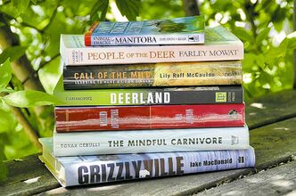 Shel Zolkewich / Winnipeg Free PressWriters and readers offered some suggestions for books on the great outdoors you can enjoy this summer.