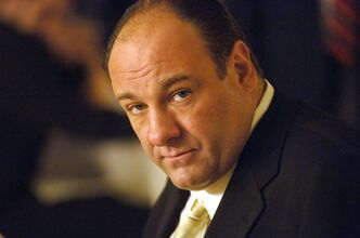 FILE - This undated publicity photo released by HBO, shows actor James Gandolfini in his role as Tony Soprano, head of the New Jersey crime family portrayed in HBO's