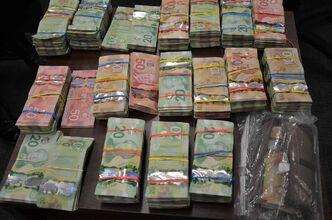 A large amount of cash was discovered by the RCMP in a Camperville residence.