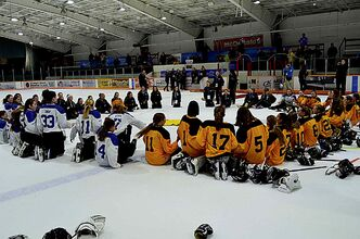 The sight of three teams of ringette players sitting together, laughing and singing as they waited for the medal ceremony at the Manitoba Winter Games was a heartwarming reminder of how sport can bring us together.