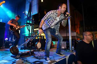 Canadian country musician Dallas Smith