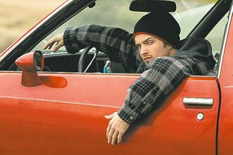 Aaron Paul as Jesse Pinkman in Breaking Bad.