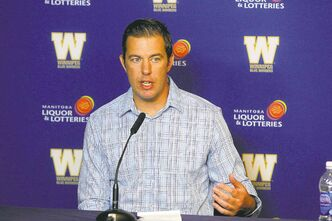 Acting Blue Bombers GM Kyle Walters is the only logical choice to fill the job when the club decides to hire a permanent GM.