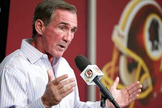 Redskins head coach Mike Shanahan announces RG3 is done for the season.