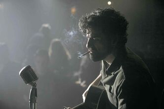This film image released by CBS FIlms shows Oscar Isaac in a scene from