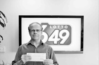 Submitted photoDennis Nash won the jackpot.