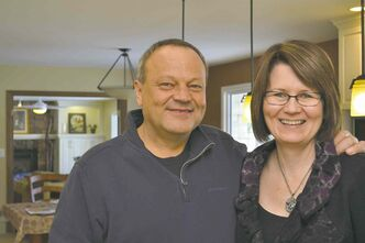Ron Funk and his wife, Cheryl Digby, are proud of the renovation they completed of their 1,900-square-foot bungalow in Morden.