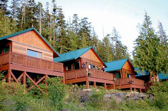 The most popular package is a four-night stay in one of eight rustic cabins.