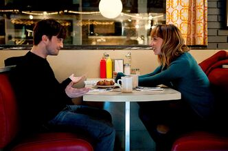 Radcliffe stars opposite Zoe Kazan in the The F Word.
