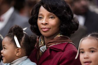 Mary J. Blige plays Betty Shabazz in the Lifetime made-for-TV movie about the widows of Malcolm X and Martin Luther King.THE CANADIAN PRESS/HO-Lifetime Canada-Jan Thijs