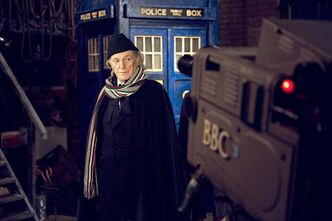 David Bradley as the First Doctor, William Hartnell.