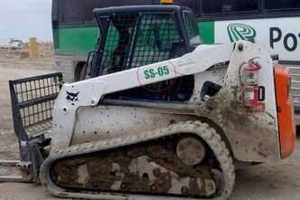 Winnipeg police are asking for the public's assistance in locating a missing Bobcat T250K compact track loader, which was taken from the 1700 block of Plessis Road in early November. As marked on the image above, provided by police, there is a