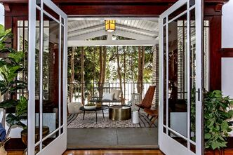 <p>The 107-year-old home in the Ocean Park neighborhood houses the dining room where the actor, Will Forte, penned the pilot for the show