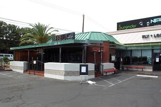 In this April 30, 2013 photo, Firefly Tapas Kitchen & Bar sits closed after more than 30 patrons reported food poisoning symptoms. A new report on Friday, May 10, 2013 shows 200 people who dined at one of Las Vegas' most popular restaurants about a block off the Strip have reported food poisoning symptoms, making it the largest outbreak southern Nevada health officials have seen in at least a decade. (AP Photo/The Las Vegas Sun, Sam Morris) LAS VEGAS REVIEW-JOURNAL OUT