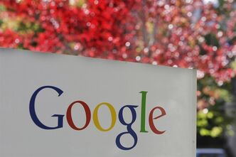 In this Nov. 10, 2010 file photo, the company logo is displayed is at Google headquarters in Mountain View, Calif. THE CANADIAN PRESS/AP, Paul Sakuma