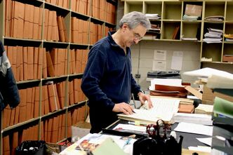 Ray Chrunyk will remain the WSO's principal librarian, he will be retiring from playing in the orchestra.