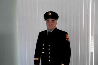 Mike Siemens, of Oak Bluff, steps into the RM of Macdonald's fire chief  position on Jan. 1, 2014.