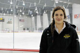 Balmoral Hall Blazers defenceman Tess Bracken will be on the ice at the MTS Iceplex as the Blazers host the Junior Women's Hockey League from Nov. 29 to Dec. 1.