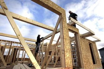 Single-family and multi-family housing starts in January 2012 were nearly triple the number of those in January 2011.