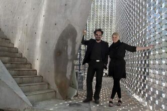 Architects Sasa Radulovic (left) and Johanna Hurme of Winnipeg's 5468796 Architecture Inc.