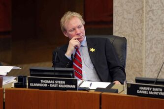 Thomas Steen (Elmwood-East Kildonan) is seeking re-election.