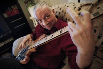Guess Who bassist Jim Kale at his Winnipeg home on Nov. 13.