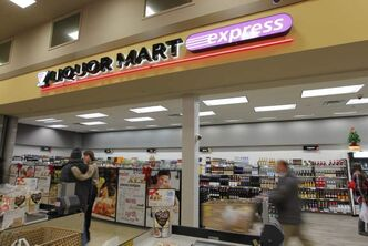 A new Liquor Mart Express opened this week at the Safeway store on Pembina Highway between Markham and Chancellor.
