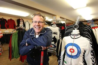Asham founded one of Manitoba's most successful Metis-owned businesses -- Asham Curling Supplies.