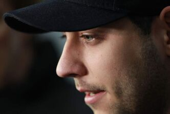 Jets goaltender Ondrej Pavelec answers questions regarding the incident that saw him charged with drunk driving.