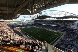 Investors Group Field opened to mixed reviews.