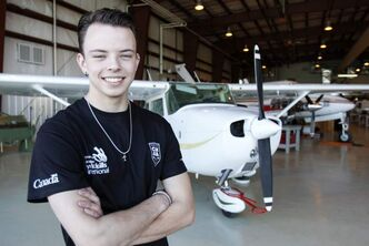 Aircraft maintenance apprentice Dylan Pereira will represent Canada at the World Skills competition.