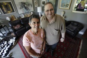 Paula Parks and Arthur Blankstein are co-chairs for the 21st World Conference of GLBT Jews.