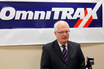 Merv Tweed, president of Omnitrax, has said shipping oil to Churchill on rail lines would be safe.