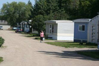 Residents of the Kingsway Kort trailer park in Brandon have been told they have until the end of March 2014 to leave the property.