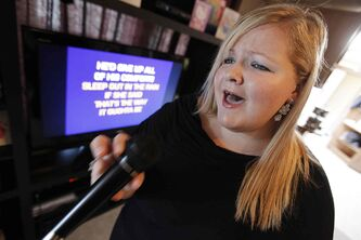 Kristen Single is a contestant in the World Series of Karaoke. The winner will represent Manitoba in Vegas.