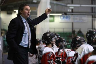 Selkirk Steelers head coach Ryan Smith: