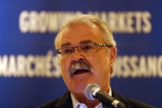 Agriculture Minister Gerry Ritz said Tuesday the losses to farmers because of the railcar backlog might be impossible to calculate.