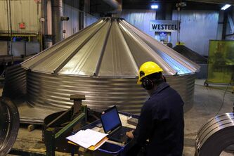 Agriculture-related firms such as Westeel have seen sustained sales growth as farmers invest in their infrastructure while they've got the cash.