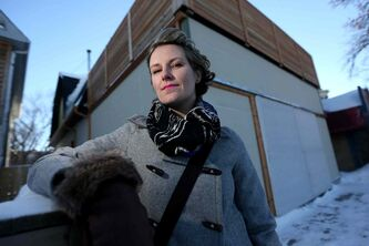 Erin Kembel, owner of EMK Clothing on Sherbrook Street, has had her eye on the area for some time.
