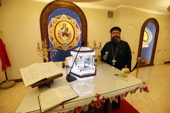 Rev. Marcos Farag of Winnipeg's St. Mark Coptic Orthodox Church is looking forward to the visit of Pope Tawadros II, the spiritual leader of the Coptic church.