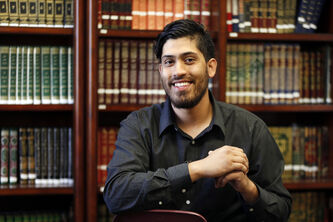Raza Hameed of the Manitoba Islamic Association is one of those manning a hotline that provides sunrise and sunset times for those following Ramadan fasts.