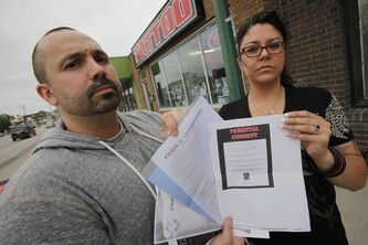 Darcy Jeanson and Cheryl Radcliffe are upset Phase ll Tattoo and Body Piercing pierced their daughter without their permission.