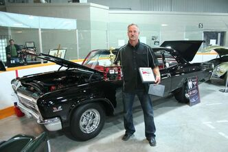 Larry Dyck's stunning 1966 Chevrolet Biscayne took home a number of awards.