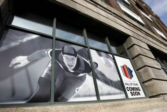New Manitoba Sports Hall of Fame location in the Manitoba Sport For Life Centre at 145 Pacific Ave.