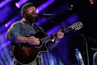Zac Brown performs at the 2013 CMA Music Festival at the LP Field.