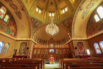 Holy Eucharist Ukrainian Catholic Church in Winnipeg
