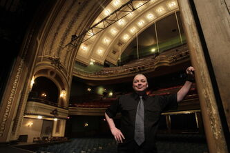 Burton Cummings Theatre's ghost-friendly house technician Kenny Jackson says some believe that two actors who died 100 years ago still haunt the Winnipeg theatre.