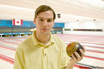 Wes Payne is Manitoba's men's singles representative at the Canadian Open.