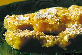 Day 6 of the Free Press's 21 Days of Holiday Cookies features Lemon Bars. We will be publishing one cookie recipe every day -- Monday to Saturday -- till Christmas.