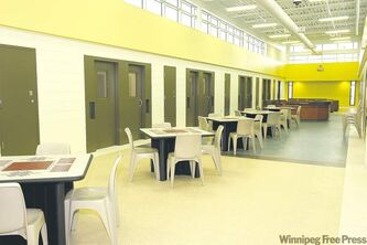 Natural light is abundant at the new Women's Correctional Centre in Headingley, which is set to receive inmates shortly.